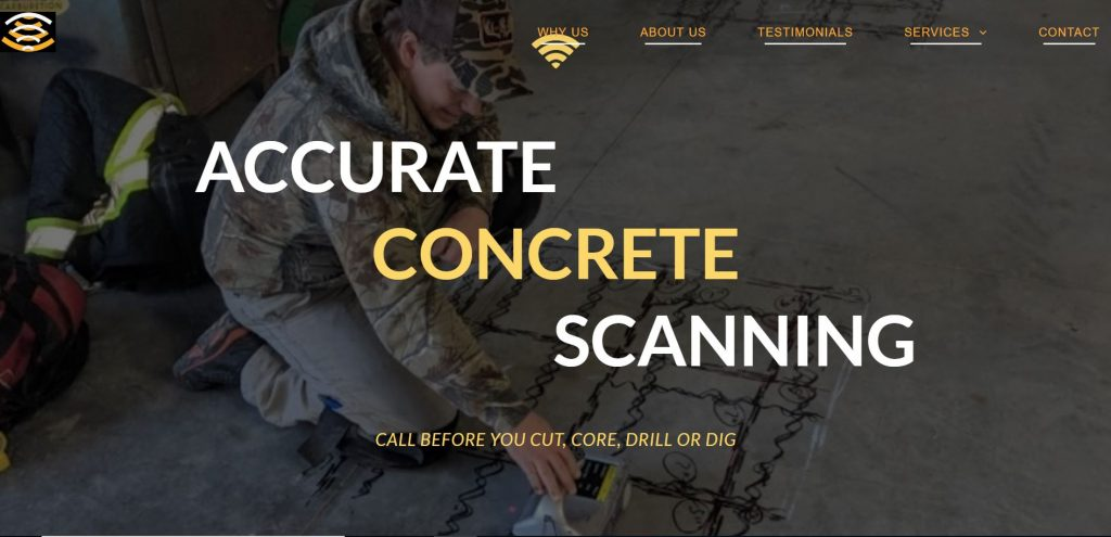 Accurate Concrete Scanning